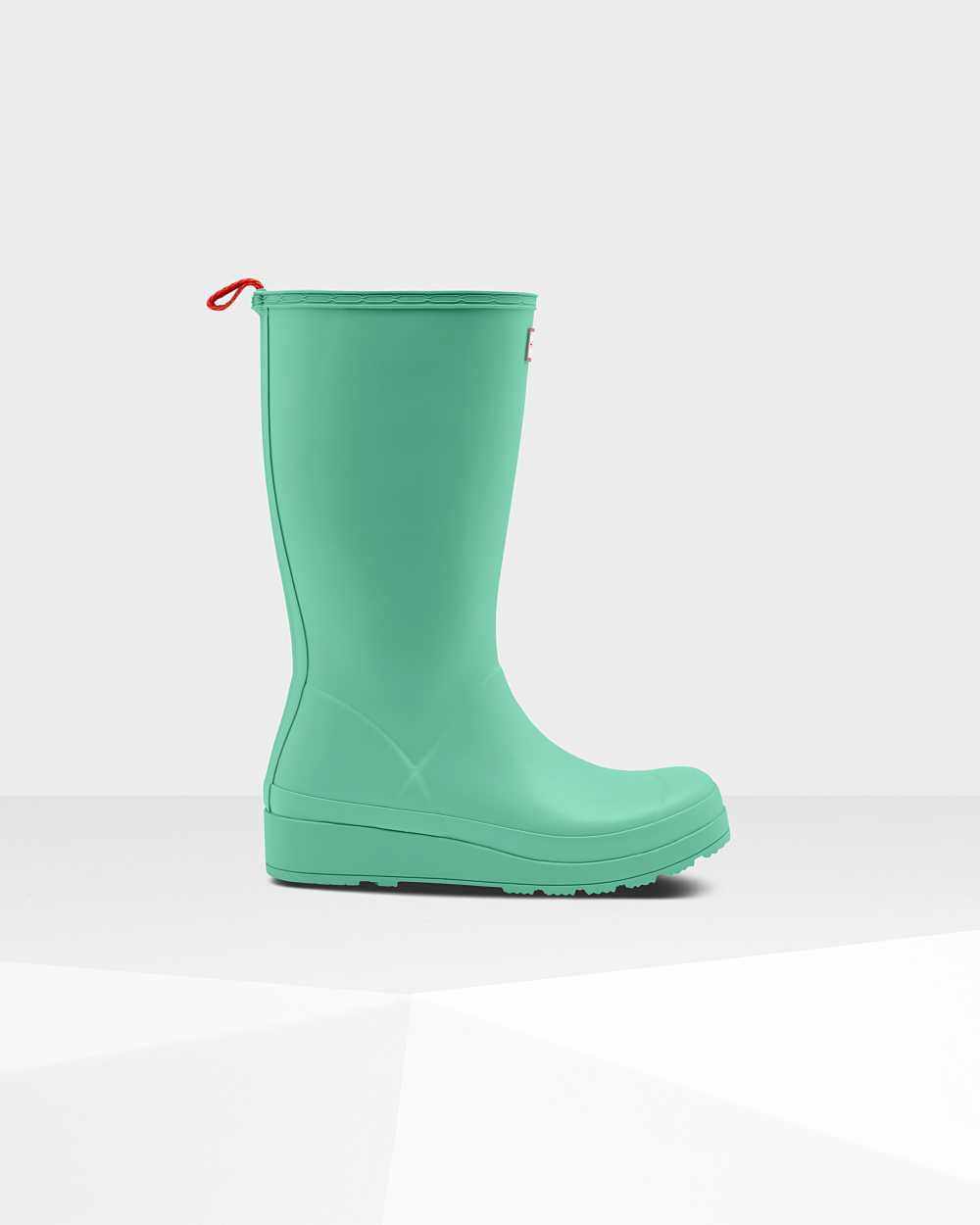 Hunter Original Play Womens Tall Wellington Rain Boots In Green Australia (XUZS-90683)